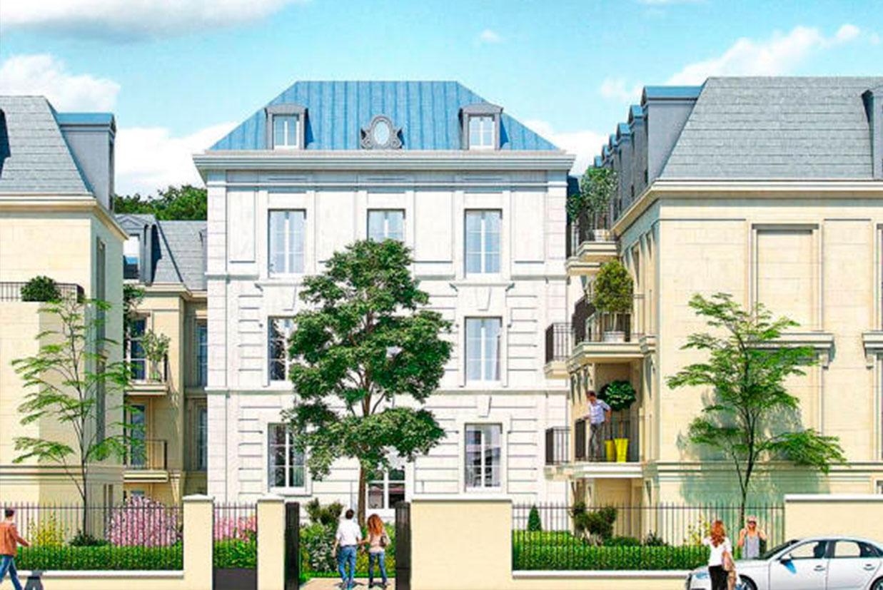 Construção da residência « Les Jardins de Pierrus » em BRY SUR MARNE (94)