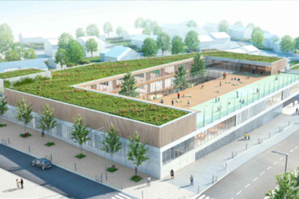 JC GROUP assina seu primeiro contrato em França: construção de um grupo escolar e uma creche.