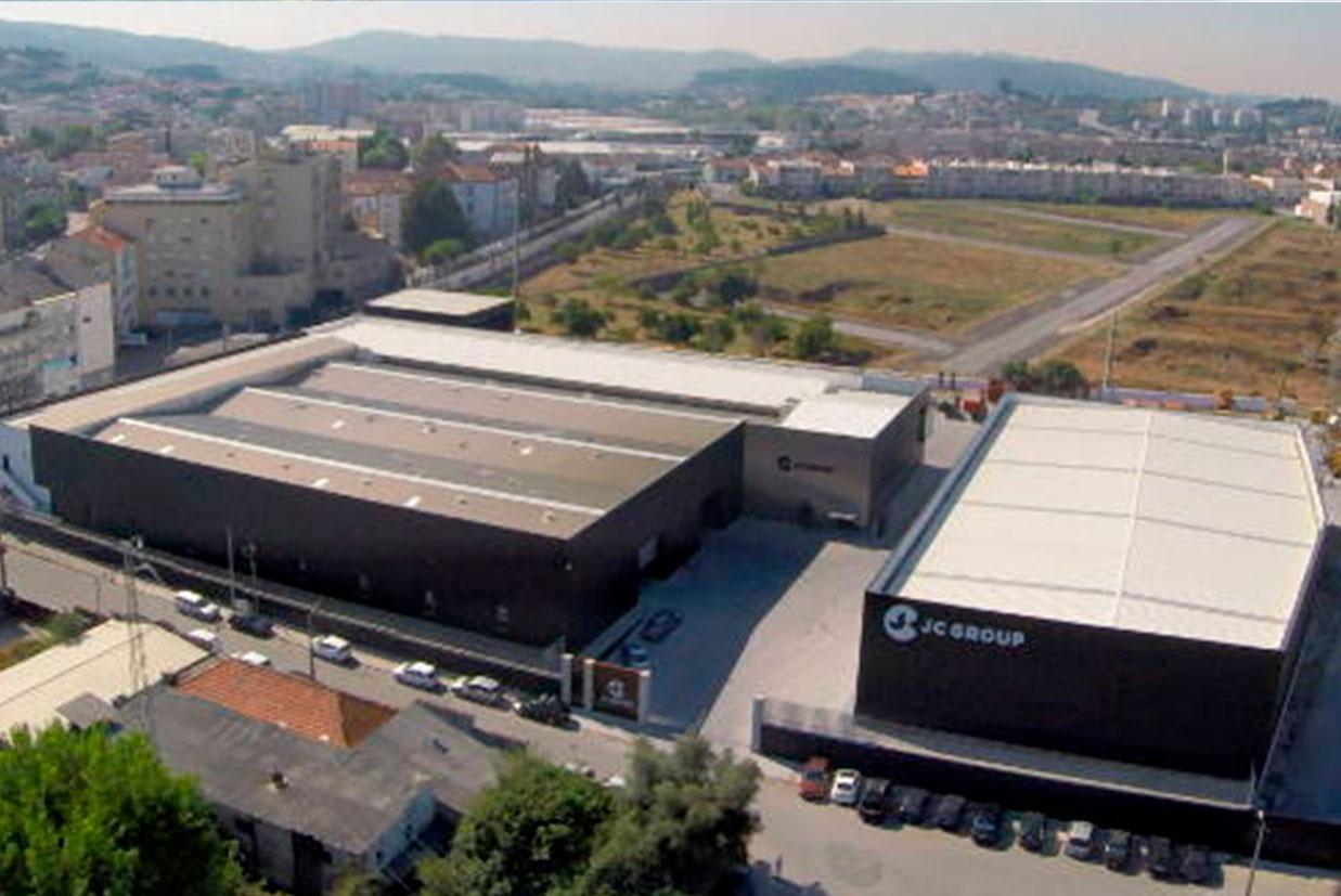JC GROUP com novas instalações em Portugal: centro de operações com 10.000 metros quadrados